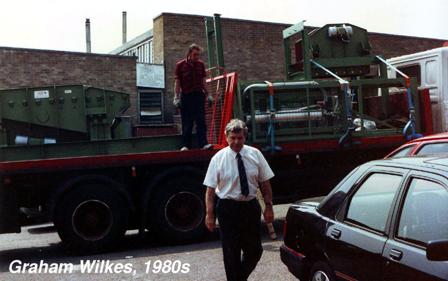 Graham Wilkes, Founder of Applied Vibration Ltd