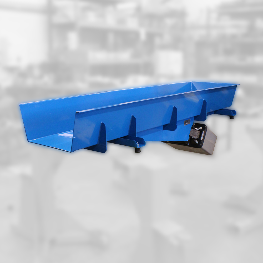 electromagnetic drive feeder for weighing and packaging applications