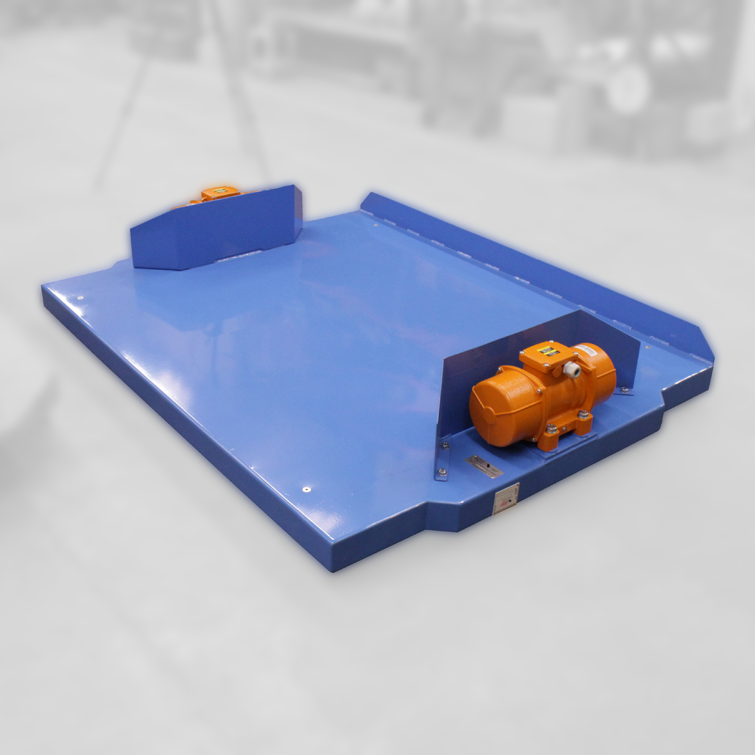 low level vibrating table
