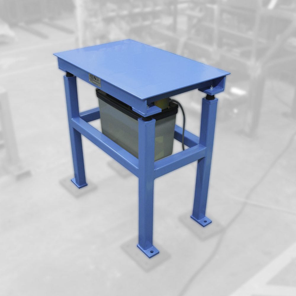 Working Height Vibrating Table
